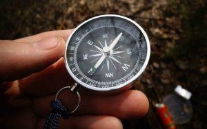 Правила использования компаса